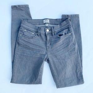J Crew Gray Toothpick Style Jeans